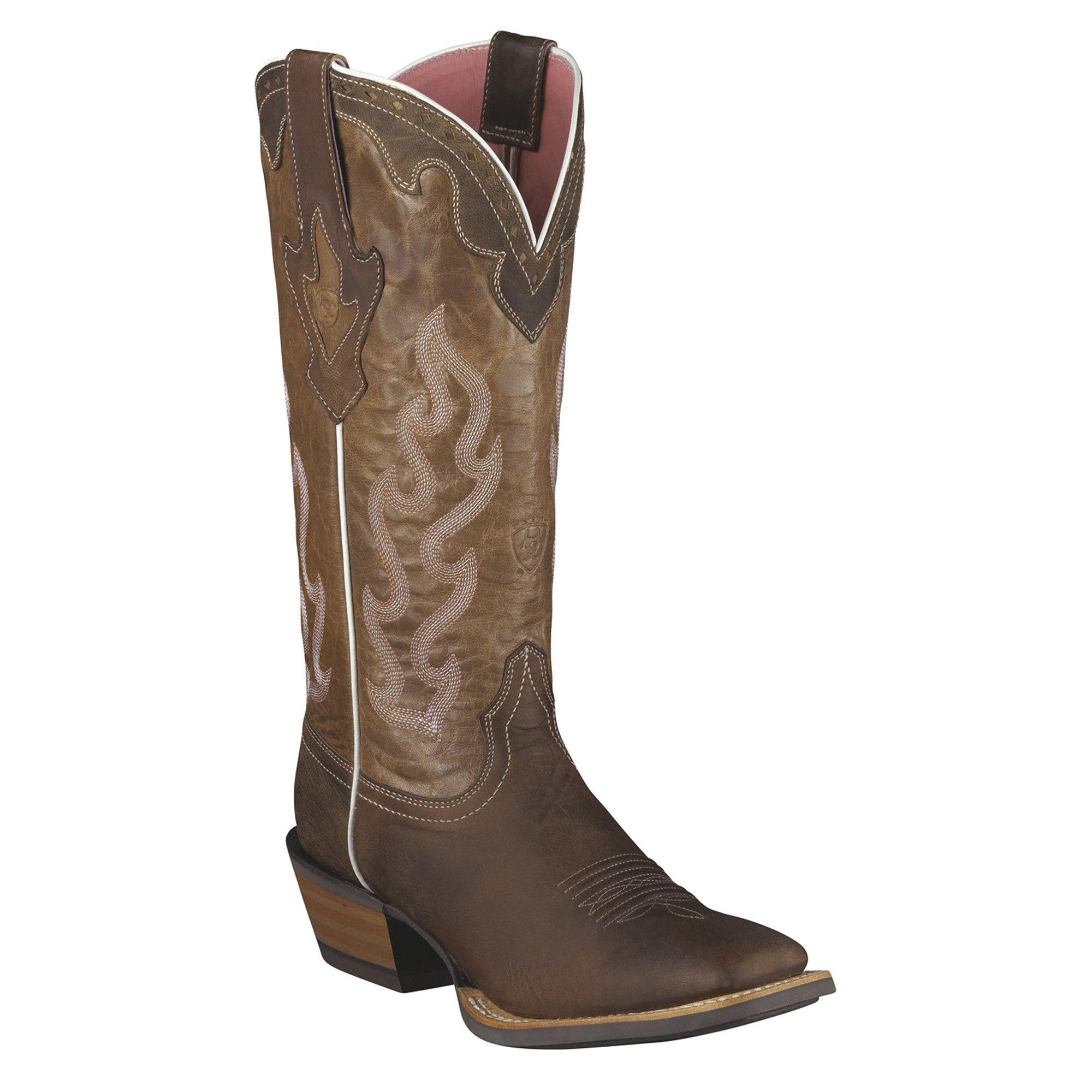 5c5940b5a7b Ariat Women s Crossfire Caliente Square Toe Boot