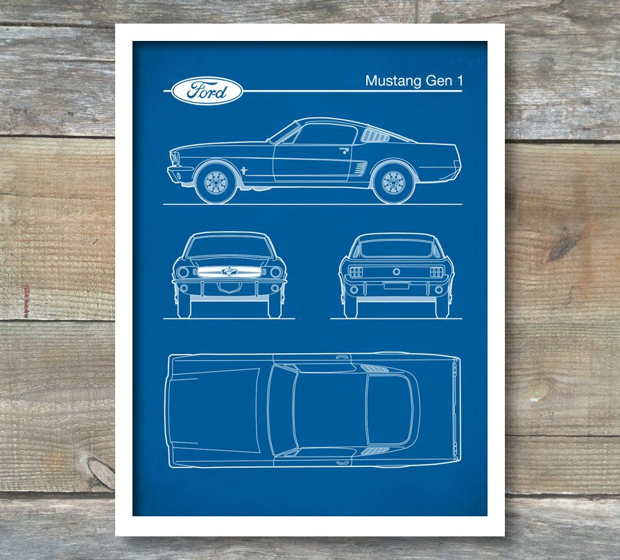 Auto art patent print ford mustang gen 1 blueprint ford mustang auto art patent print ford mustang gen 1 blueprint ford mustang poster ford mustang art ford mustang decor p472 by neuestudioartprints on etsy malvernweather Gallery