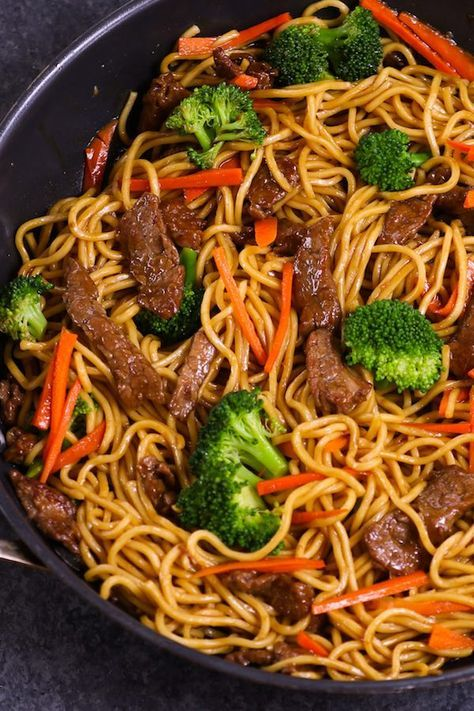 Beef Lo Mein Meal Prep {20 Minutes!} - TipBuzz