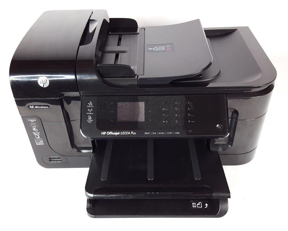 HP OfficeJet 6500A Plus E710n All-In-One Inkjet Printer w/ Duplexer #