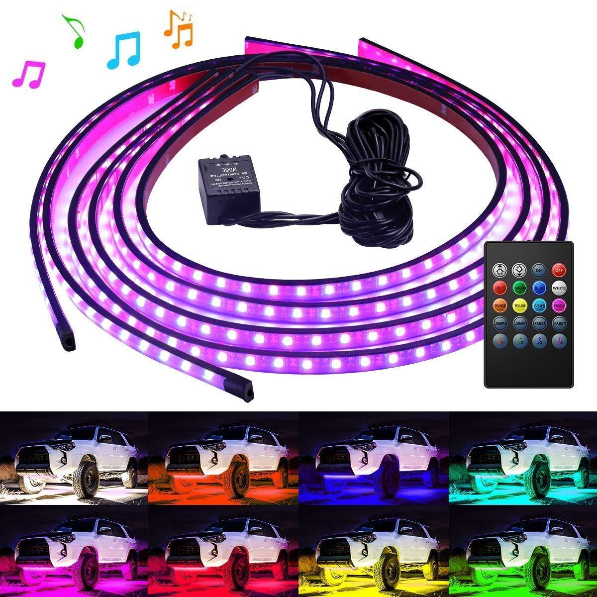 Govee Car Underglow Lights 4 Pcs Led Strip Car Lights 8