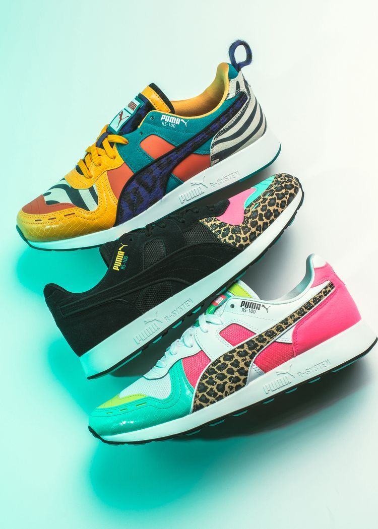 best service d211d 3a2cb Puma RS-100 Party Pack