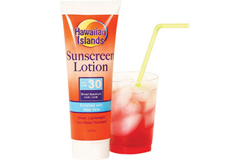 """I did not know Sunscreen Lotion Flasks were a """"thing"""""""