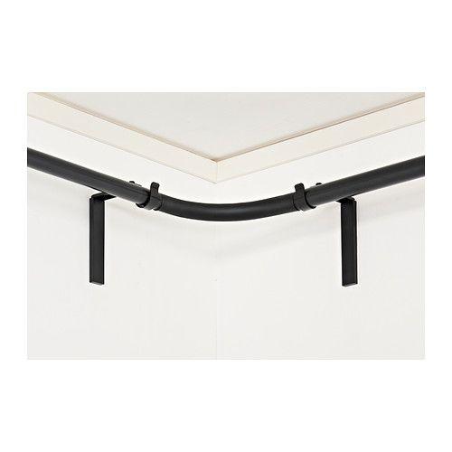 599 hugad curtain rod corner connector 2 for bay window