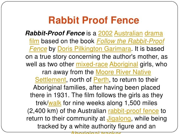 Pin On Back Pain Rabbit Proof Fence Essay