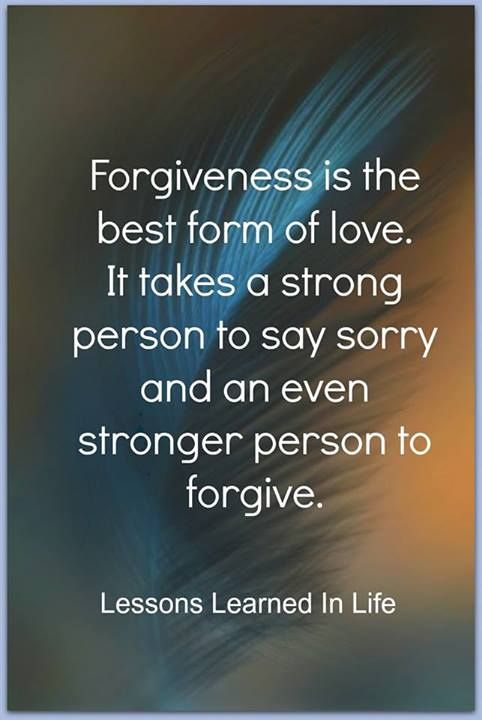 Forgiveness So True True Love God Is Love And His Love For Us Is
