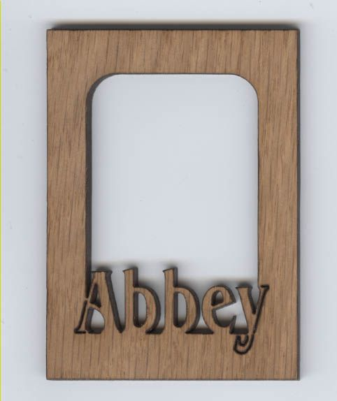 Horse laser cut and engraved wood Magnet Great Gift Idea