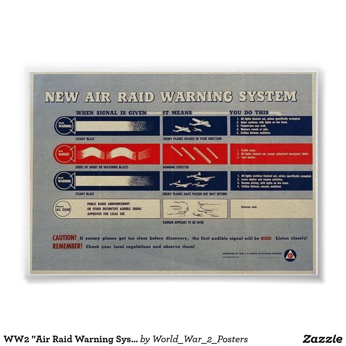 Air Raid Warning System