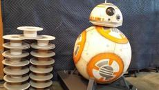 Designer Builds a Full-Size, 3D-Printed BB-8