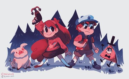 cygulls: Mystery kids