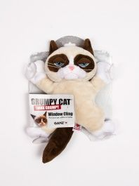 for Rachel.. Grumpy Cat Window Cling by GANZ - ShopKitson.com