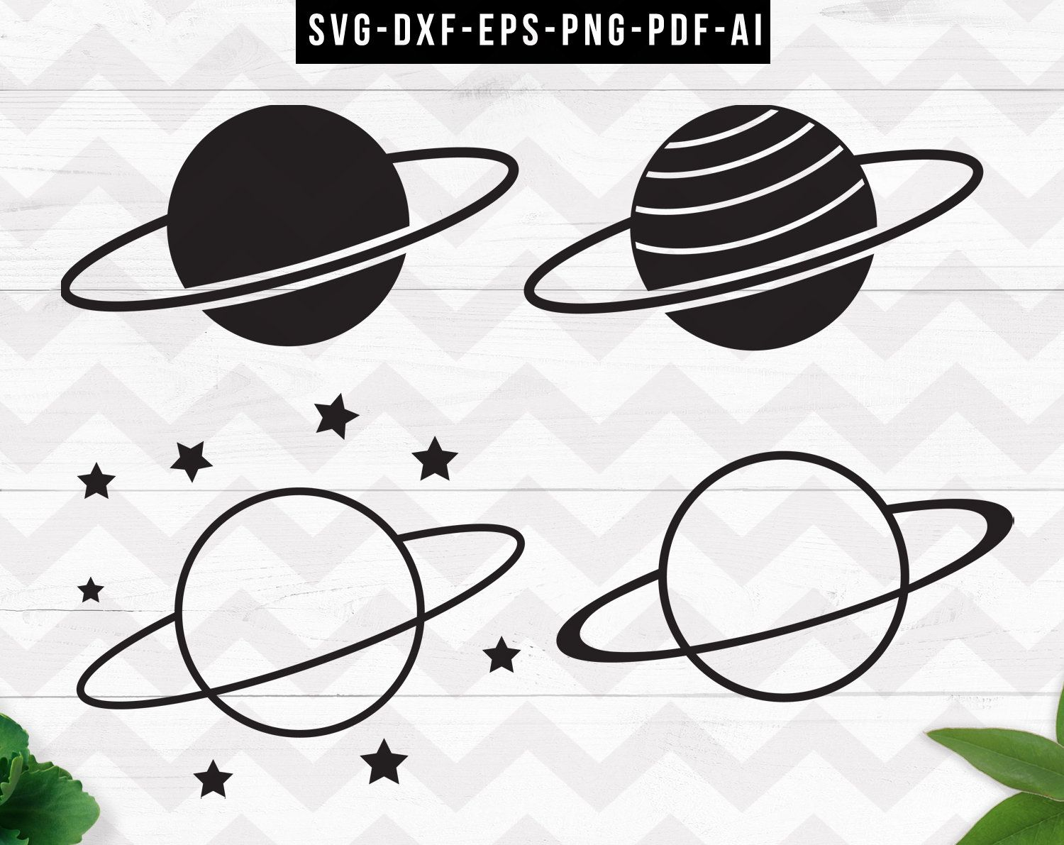 Planet Svg Simple Planet Clipart Outer Space Svg Moon