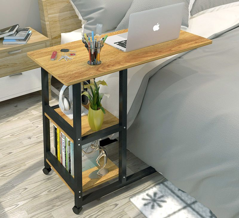 Pleasant Supreme Sofa Bed Side Table Laptop Desk With Shelves Unemploymentrelief Wooden Chair Designs For Living Room Unemploymentrelieforg