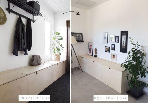 un banc coffre la sauce scandinave pour la 12 diy. Black Bedroom Furniture Sets. Home Design Ideas