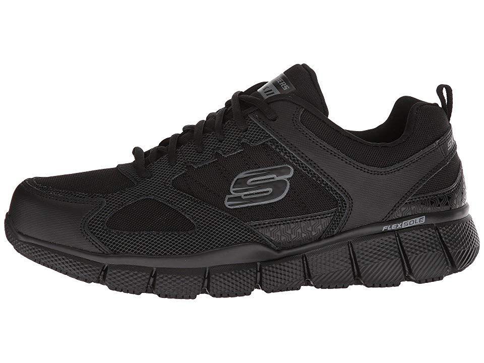 SKECHERS Work Telfin Sanphet SR Men's Lace up casual Shoes
