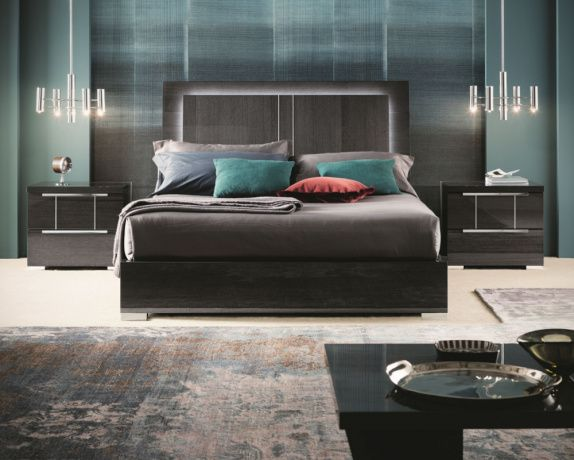 Versilia Designer Bed A Perfectly Designed And Wonderfully Practical Piece Tha Contemporary Bedroom Sets Italian Furniture Stores California King Bedroom Sets