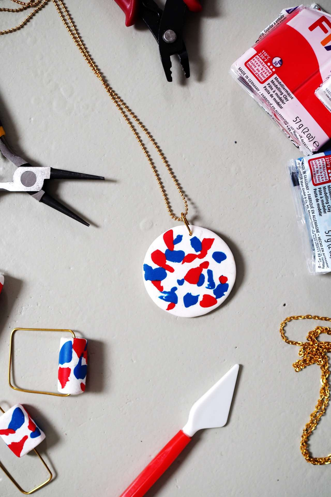 how-to: faux terrazzo ketten | amazon | pinterest | diy, jewelry and