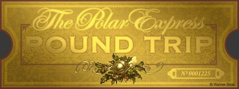 photograph about Polar Express Golden Ticket Printable known as The Golden Ticket Polar Specific Bash Polar specific
