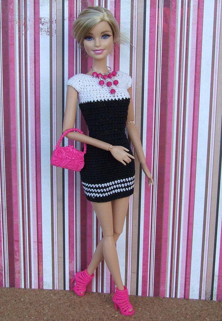 S14   Barbie   Pinterest   Barbie kleider, Barbie und Häkeln