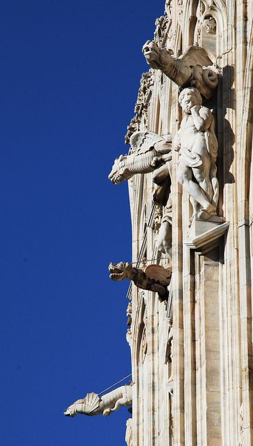 Gargoyles of The Milano Duomo One day, maybe. You will be here forever immortalised in stone