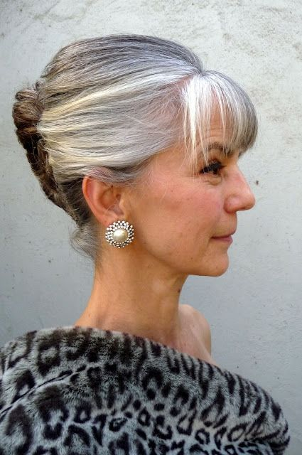 Teapots And Polka Dots This Is Me Hair Styles Silver Grey Hair Long Hair Styles