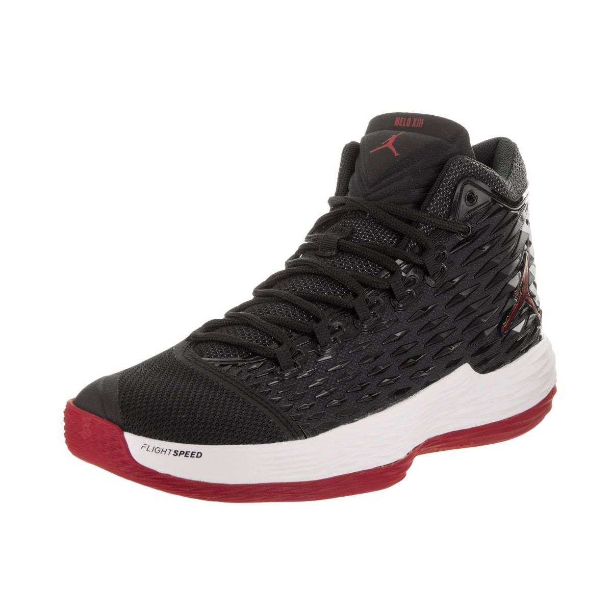 6e6825f9c3b Nike Jordan Men's Jordan Melo M13 /Red/White Basketball Shoe ...