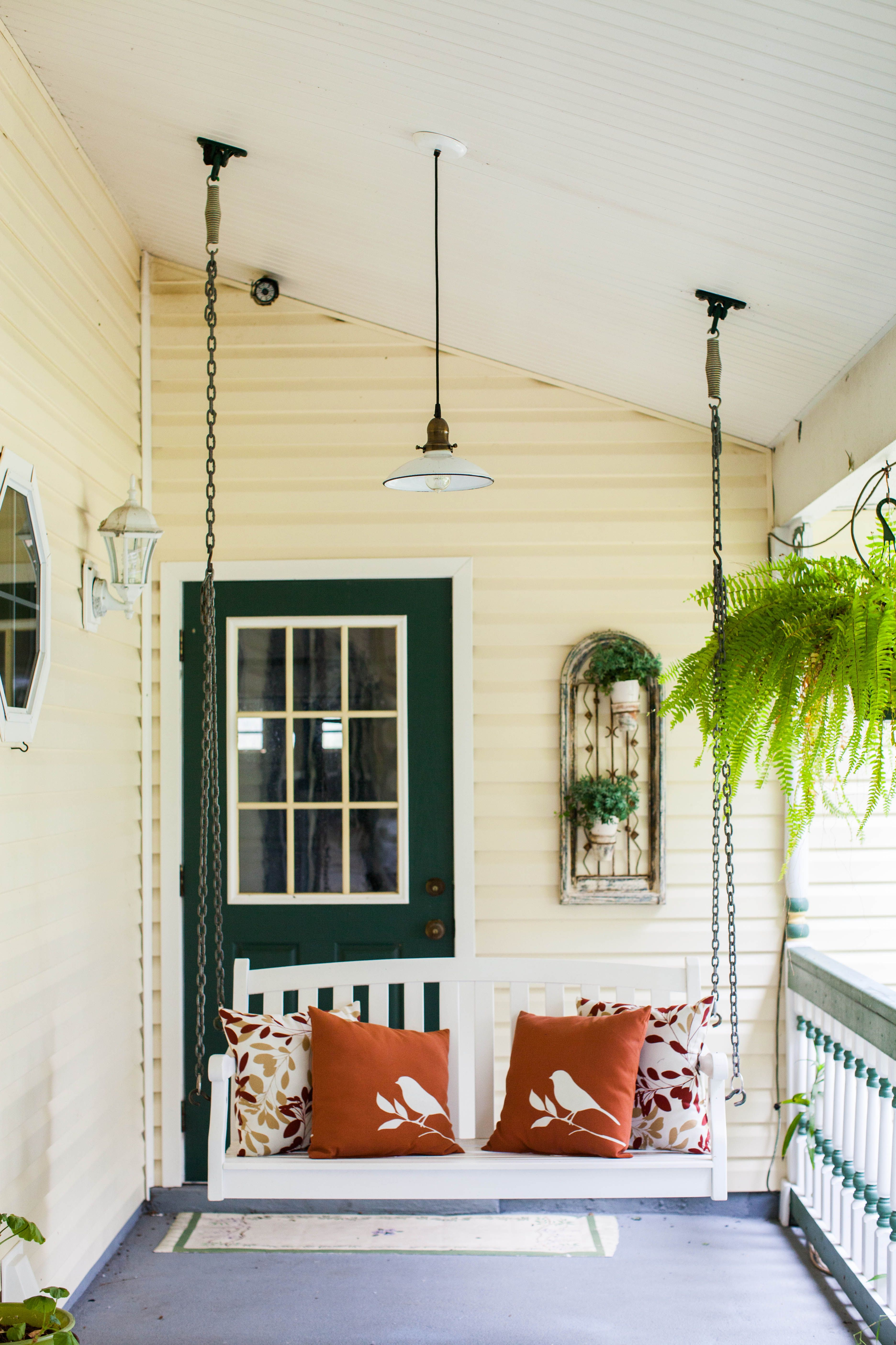 Cozy porch pretty pendant lighting all it needs is a