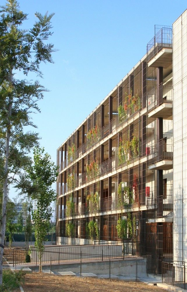 Gallery of 80 viviendas de protecci n oficial en salou toni giron s 11 arq urb - Casas de proteccion oficial ...