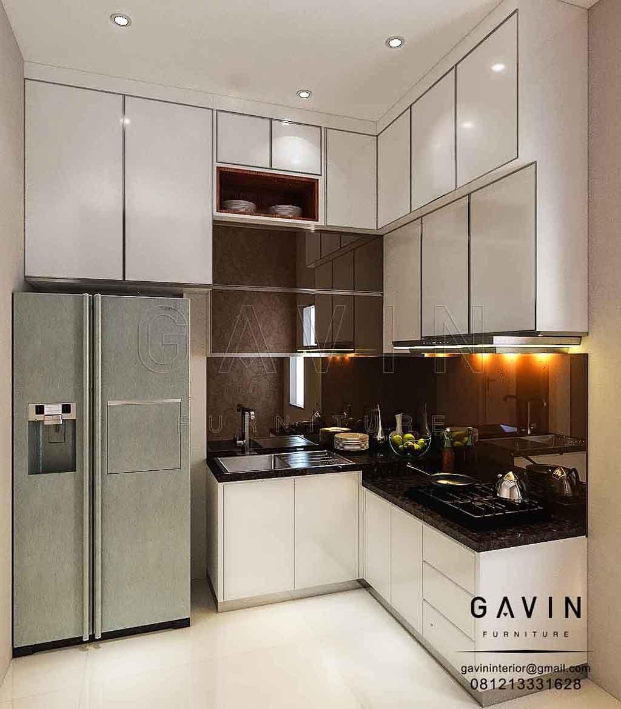 Seperti Namanya Yaitu Lemari Dapur Backplash Cermin Pada Bagian Menggunakan Bronze Dengan