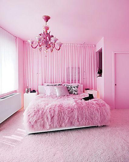 pink rugs in beautiful decoration modern pink bedroom