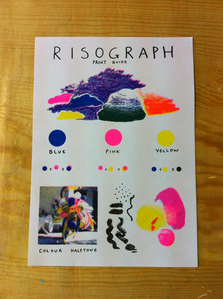 laurendoughty: print guide printed in 2020 | Risograph ...