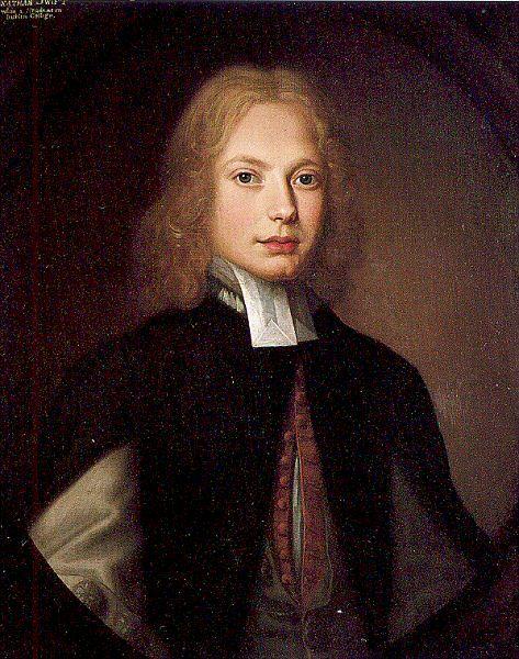 Portrait De Jonathan Swift Etudiant Au Trinity College Par