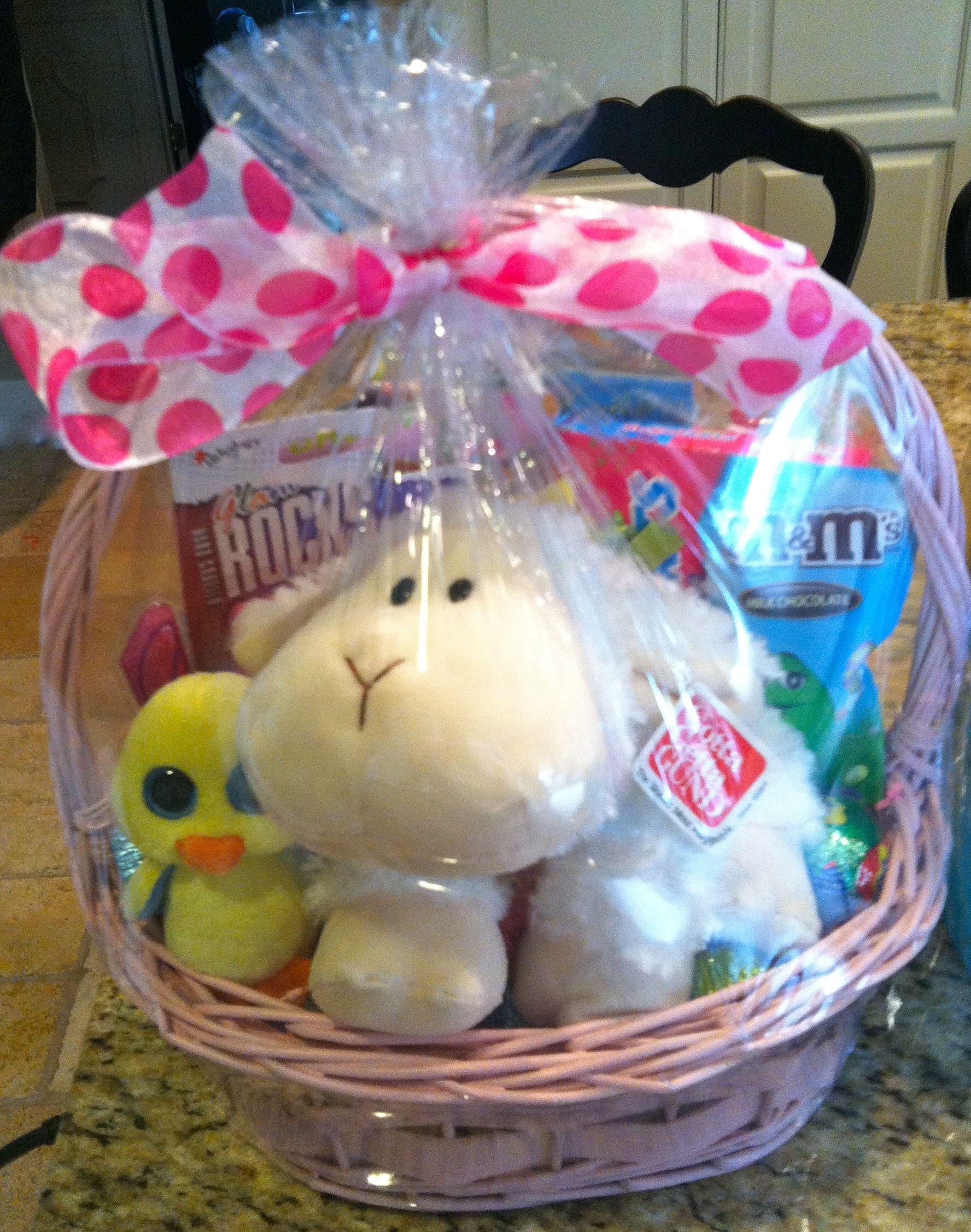 Easter basket 7 10 year old girl easter pinterest easter easter basket 7 10 year old girl negle
