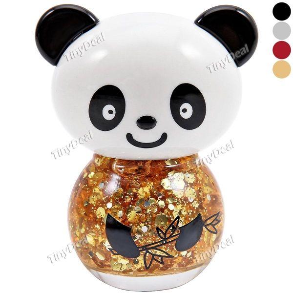 I find an excellent product on #TinyDeal - Panda Shape Nail Polish Glitter Powder & Pure Color Nail Polish for Lady BCI-352060  $2.62 Скидка 24% $1.99