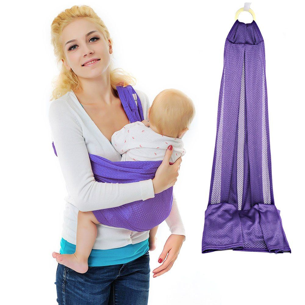 Xcellent Global Baby Wrap Sling Carrier 100 Polyester Quick Dry