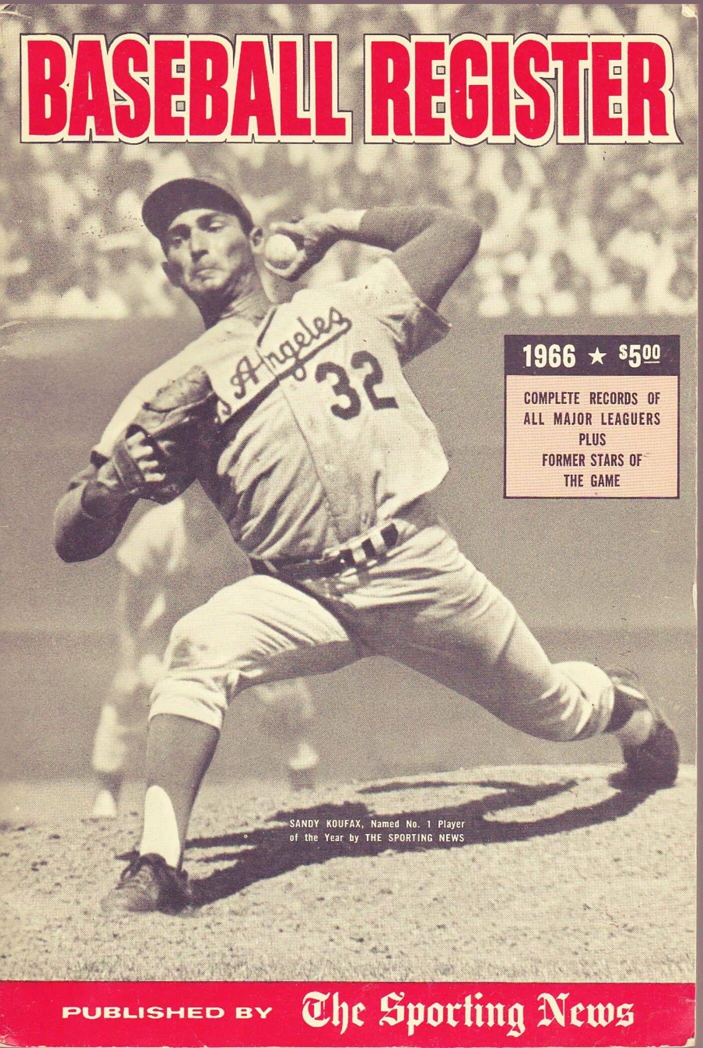 1966 Kofax Baseball Sports Books Baseball History