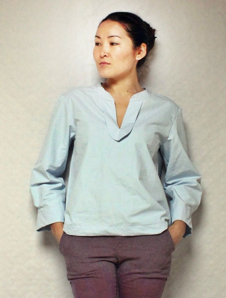 Schnittmuster Bluse \