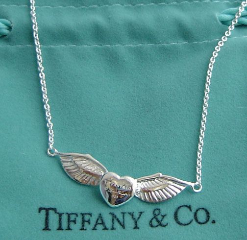 Tiffany necklace. I absolutely love this one.