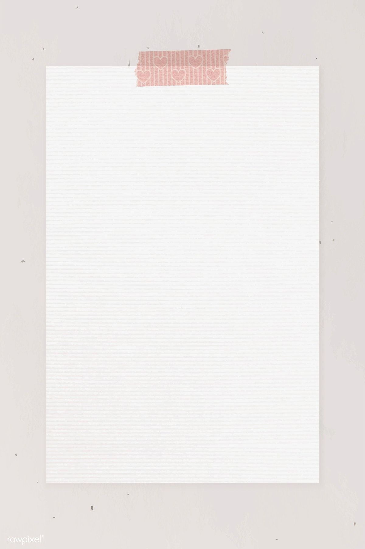 Blank Paper With Washi Tape Template Vector Free Image By Rawpixel Com Ningzk V Ideias Instagram Ideias Colagem Molduras Para Fotos Montagens