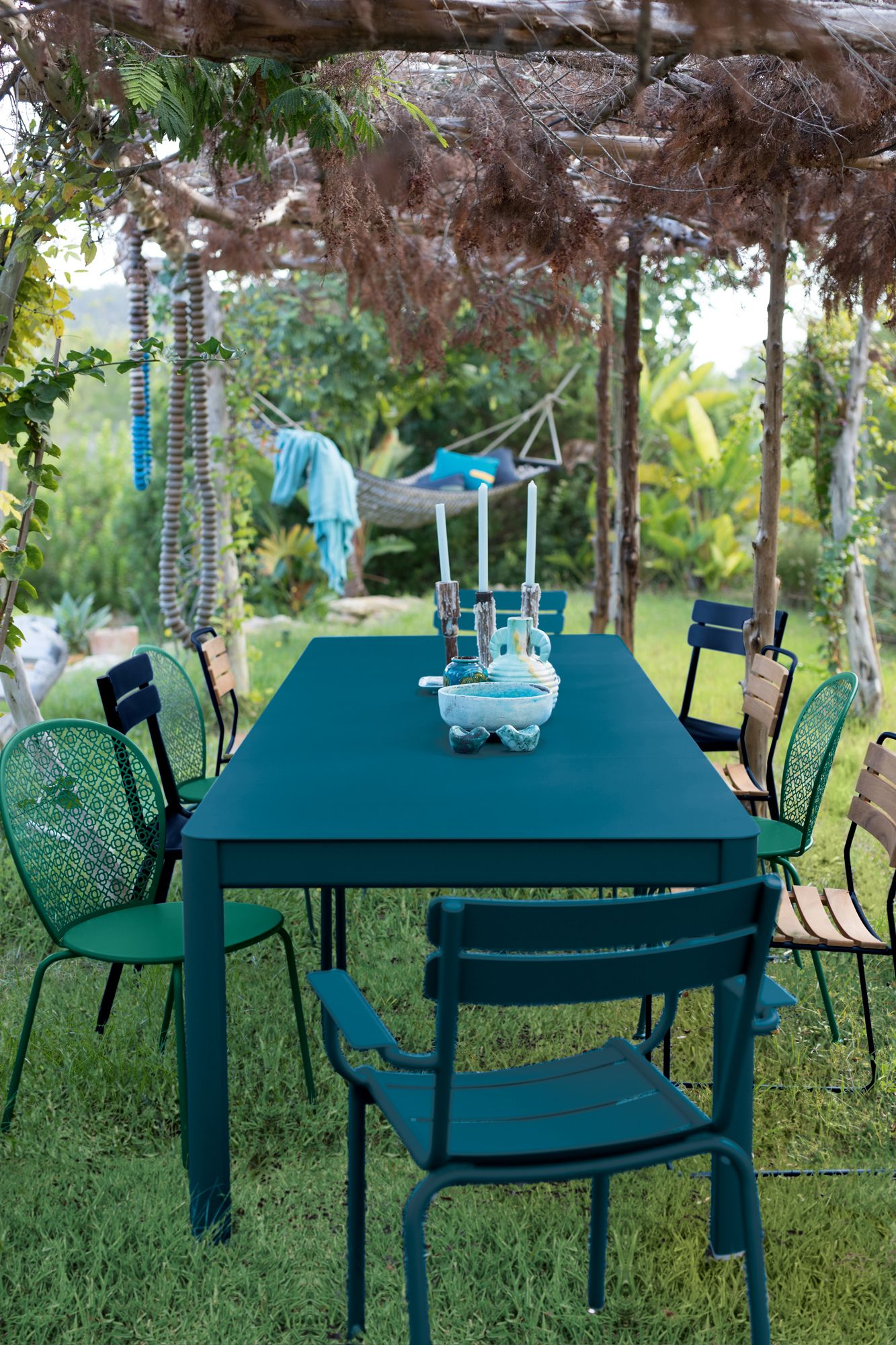 Collection Ribambelle Fermob Tables De Jardin Extensibles