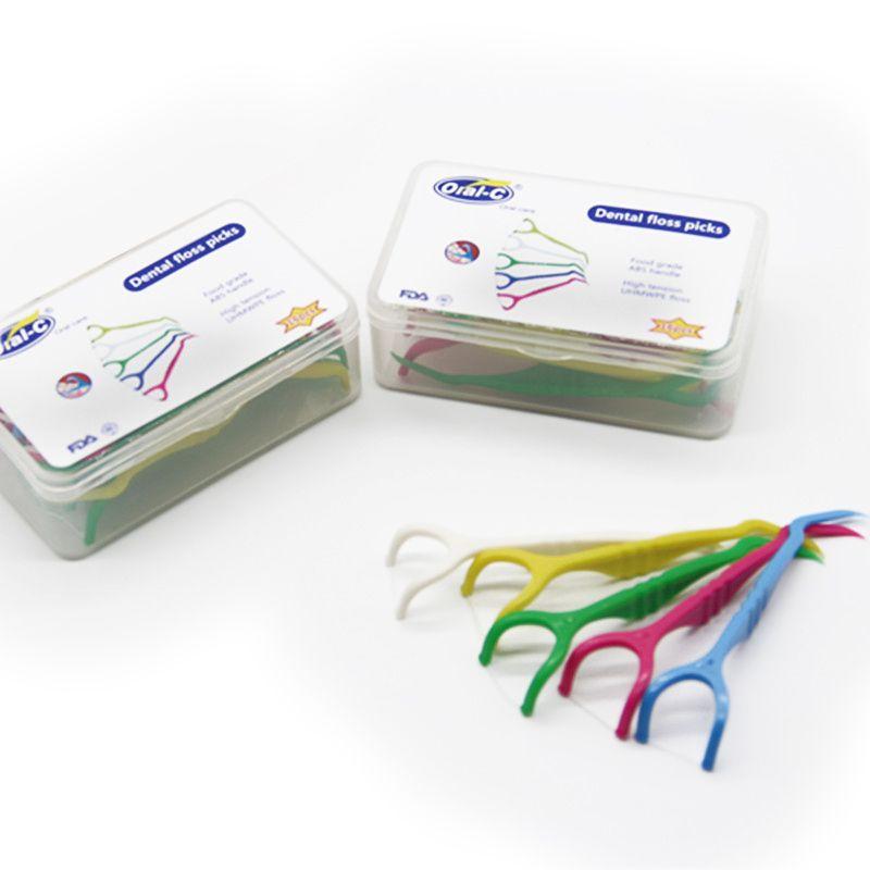 dental floss pick/dental floss holder OEM | dental floss ...