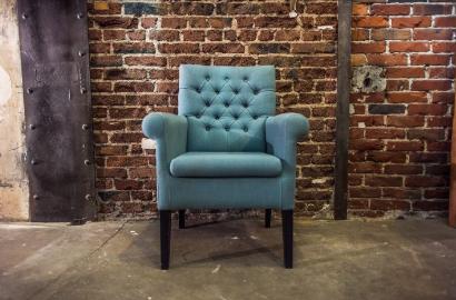 Sessel Stuhl Esszimmer Vintage Landhaus Stoff Leder Mehrfahrbig Stuhlset  Esszimmerset
