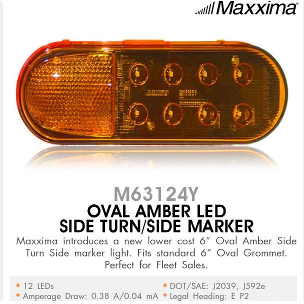 Introducing Our New Oval Amber Led Side Turn Side Marker With Images Markers Truck Lights Turn Ons