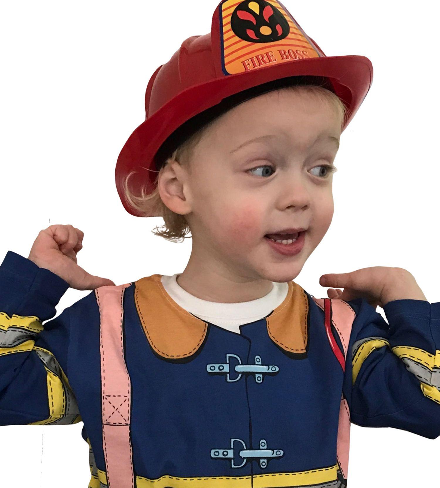 Brandmands kostume i 100% bomuld