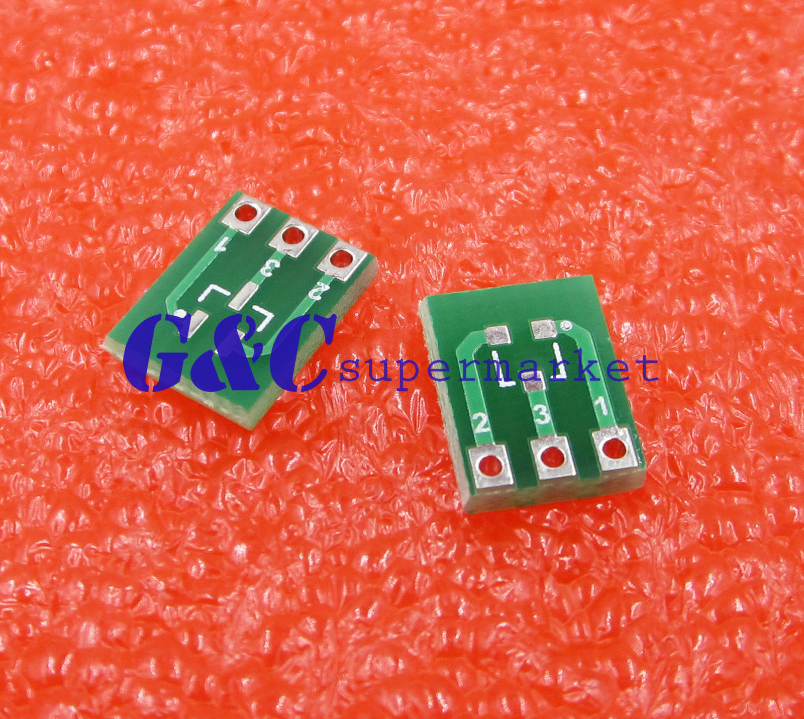 10pcs New Double Side Smd Sot23 3 To Dip Sip3 Adapter Pcb Board Diy Sot 23 139