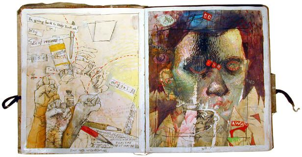 Artists sketchbooks are personal, private belongings which were not supposed to be seens by the public.