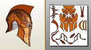 Image result for pepakura deathstroke helmet modelos for Deathstroke armor template