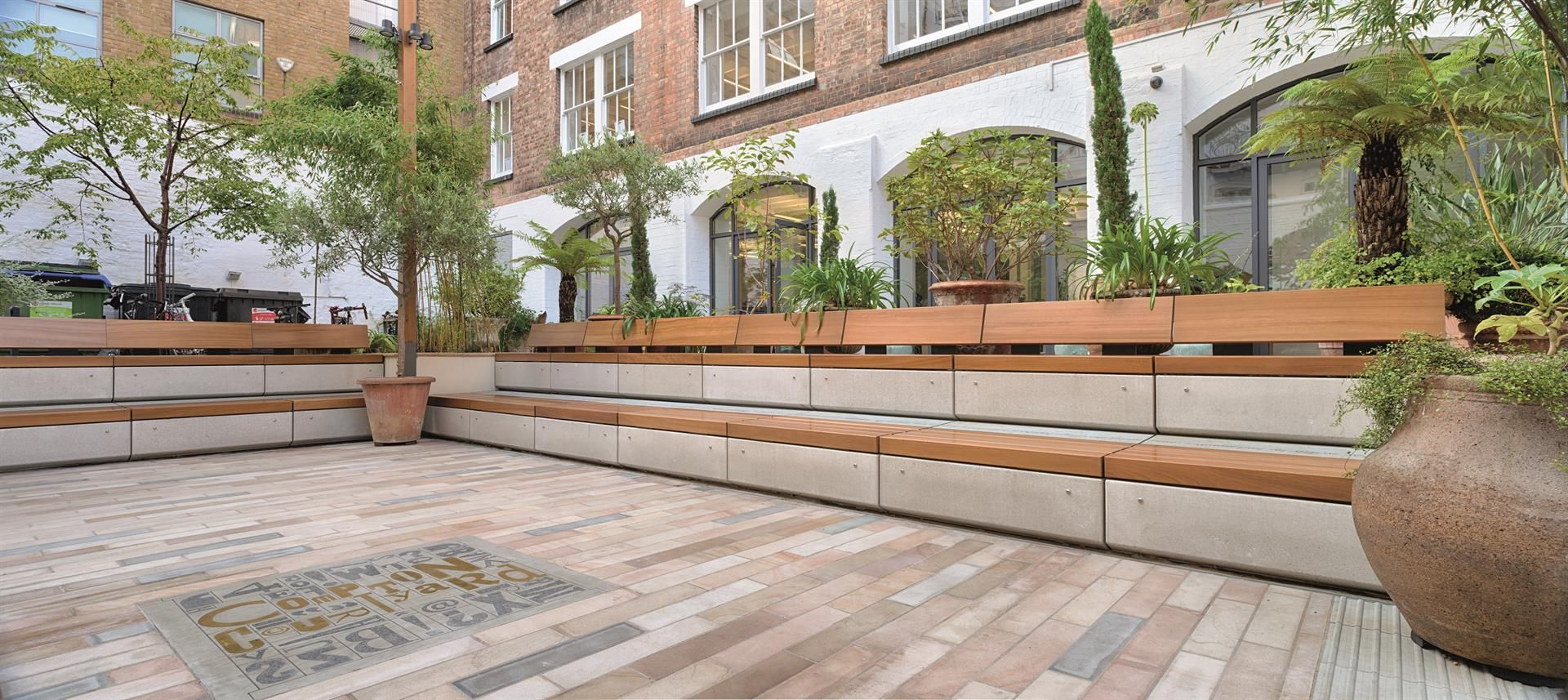 Marshalls Metrolinia Modular Concrete seating is part of our extensive range of street furniture. Please visit the website to learn more.