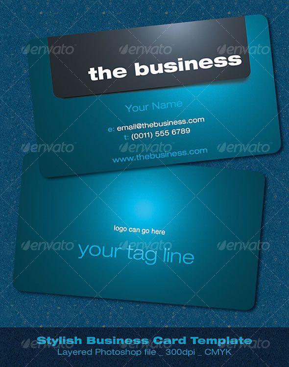 Stylish Business Card Stylish Business Cards Business Card Photoshop Corporate Business Card