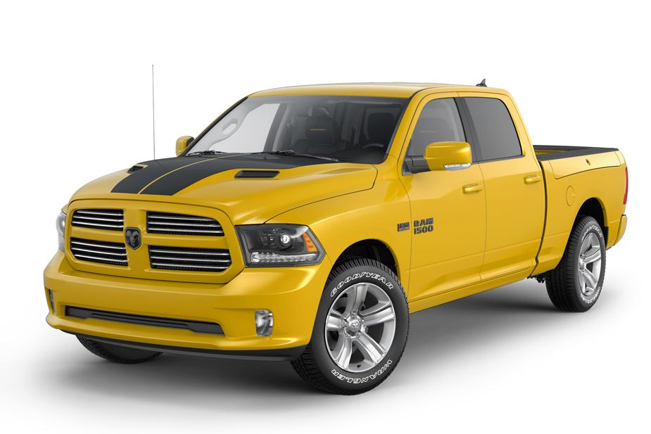 The Limited Edition Ram 1500 Stinger Yellow Sport Offers